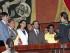 ECUADOR - QUITO - 22/07/2015. La Asamblea Nacional posiciono a los nuevos miembros del Consejo de Participación Ciudadana y Control Social.  FOTOS API/JUAN CEVALLOS.