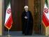 """El presidente de Irán, Hassan Rouhani, llega a Teherán, Irán, para dirigirse a la nación después de anunciarse un acuerdo nuclear en Viena, el martes 14 de julio de 2015. Rouhani dijo que """"un nuevo capítulo"""" comenzó en las relaciones de su país con el mundo. Comentó que Irán nunca consideró construir una bomba, una afirmación que Estados Unidos y sus socios llevan mucho tiempo discutiendo. (Foto AP/Ebrahim Noroozi)"""