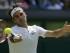 Foto de archivo.  El suizo Roger Federer durante su partido contra el australiano Sam Groth en el torneo de Wimbledon, el sábado 4 de julio de 2015. (AP Foto/Tim Ireland).