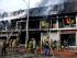 Incendio en Bahía Mall. Foto: Marcos Pin / API