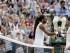 El tenista alemán Dustin Brown (i) tras su victoria ante el español Rafael Nadal (d) en la segunda ronda del torneo de tenis de Wimbledon en el All England Lawn Tennis Club de Londres (Reino Unido) hoy, jueves 2 de julio de 2015. EFE/Facundo Arrizabalaga.