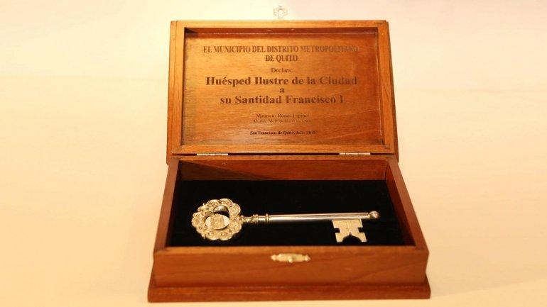La llave de Quito