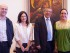 Gabriela Rovadeneira con los miembros del Paralamento del Mercosur. Foto: Asamblea Nacional
