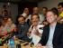 El alcalde de Guayaquil, Jaime Nebot, el de Quito, Mauricio Rodas, y el Prefecto de Azuay, Paul Carrasco, en el Hotel Oro Verde de Guayaquil, el 2 de julio de 2015. API