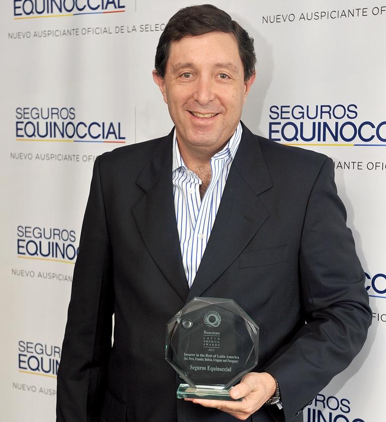 Esteban Vela, Gerente Comercial de Seguros Equinoccial
