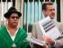 Los asambleístas Lourdes Tibán y Andrés Páez presentaron en la Fiscalía General una denuncia sobre supuesto espionaje. Foto: API