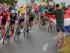 El pelotón del Tour de Francia durante la segunda etapa de la carrera en Holanda, el domingo 5 de julio de 2015. (AP Foto/Christophe Ena)