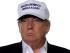 El precandidato presidencial republicano Donald Trump escucha una pregunta en el  Puente World Trade International en Laredo, Texas el jueves 23 de julio de 2015. (Foto AP/LM Otero)