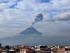 El volcán Tungurahua registró varias explosiones el martes 14 de julio, se lo pudo observar desde Ambato. APIFOTO/Carlos Campaña