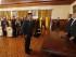 Quito (Pichincha), 3 agosto 2015.- El Presidente de la República, Rafael Correa, preside la ceremonia de condecoración y ascenso militar del Servicio de Seguridad Presidencial, en el Palacio de Carondelet. Foto: Miguel Angel Romero / Presidencia de la República