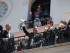 Quito (Pichincha), 27 jul 2015.- El Presidente de la República, Rafael Correa, asistió a la ceremonia de Relevo de Guardia del Grupo Escolta Presidencial, en el Palacio de Carondelet. Foto: Carlos Silva / Presidencia de la República.