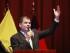 Quito (Pichincha), 13 agosto 2015.- El Presidente de la República, Rafael Correa, asistió al Encuentro Latinoamericano Progresista de Juventudes ELAP, en el auditorio de Ciespal en Quito. Foto: Carlos Silva / Presidencia de la República