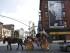 """NUEVA YORK (EE.UU.), 5/8/2015.- Avisos en la fachada de """"The Daily Show con Jon Stewart"""" en Nueva York (EE.UU.). El comediante estadounidense Jon Stewart terminará su carrera de 16 años como presentador de The Daily Show este 6 de agosto. EFE/ANDREW GOMBERT"""