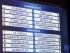 Vista de una pantalla que muestra los emparejamientos de la eliminatoria previa a la fase de grupos de la Liga de Campeones en la sede de la UEFA en Nyon (Suizq) hoy, 7 de agosto de 2015. EFE/Salvatore Di Nolfi.