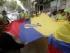 Representantes del Movimiento Alianza País España, de la Alianza País Europa y de Migrantes Ecuatorianos realizaron hoy una manifestación de apoyo al presidente Rafael Correa, frente a la Embajada de Ecuador en Madrid. EFE/Ismael Rivera