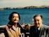 """SAN FRANCISCO (CA, EEUU), 23/08/2015.- Fotografía de 1957 cedida por la Fundación Colección Walt Disney Family de Walt Disney (d) y Salvador Dalí (i) en España, 1957. Disney y Dalí se profesaron admiración mutua y entablaron una amistad que sobrevivió al paso del tiempo e incluso a una colaboración cinematográfica fallida, según refleja una exposición en la ciudad de San Francisco. """"Disney y Dalí: Arquitectos de la imaginación"""" explora la relación entre dos de los grandes innovadores artísticos del siglo XX en una muestra que acogerá, hasta enero del próximo año, el """"Museo de la Familia Walt Disney"""" en San Francisco. EFE/Diane Disney Miller/ collection Walt Disney Family Foundation/Disney/SOLO USO EDITORIAL/NO VENTAS"""