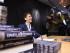 ESTOCOLMO (SUECIA), 26/08/2015.- El escritor sueco David Lagercrantz firma su libro en el acto de lanzamiento del cuarto libro de la serie de novela de crimen Millennium hoy, miércoles 26 de agosto de 2015, en una librería en Estocolmo (Suecia). Lagercrantz fue contratado por la editorial para continuar la trilogía del fallecido escritor Stieg Larsson sobre el éxito literario. EFE/Henrik Montgomery/TT /PROHIBIDO SU USO EN SUECIA