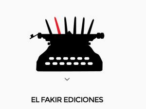 Logo de la casa editorial Fakir Ediciones.