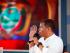 Rafael Correa, presidente del Ecuador, en su Enlace Sabatino No. 436, en Naranjal. Foto de la Presidencia de la República.