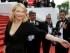 """En esta foto del 19 de mayo del 2015, Cate Blanchett llega a la función de """"Sicario"""" en el Festival de Cine de Cannes, en el sur de Francia. La actriz australiana será reconocida este año por el Instituto de Cine Británico con un premio a la trayectoria en el Festival de Cine de Londres, el 17 de octubre. (AP Foto/Lionel Cironneau, Archivo)"""