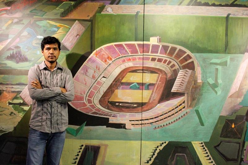 """""""Estadio sin hinchas, la gran máquina de habitar"""""""
