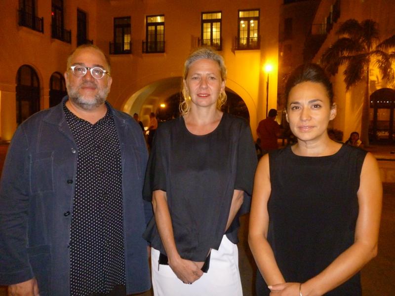 , José Luis Blondet, Magali Arriolay Sofía Hernández Chong Cuy. Foto: LaRepublica.ec