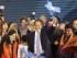 El precandidato a la presidencia de Argentina por el oficialismo Daniel Scioli (c), el domingo 9 de agosto de 2015, tras las elecciones primarias en Buenos Aires (Argentina).  EFE/David Fernández