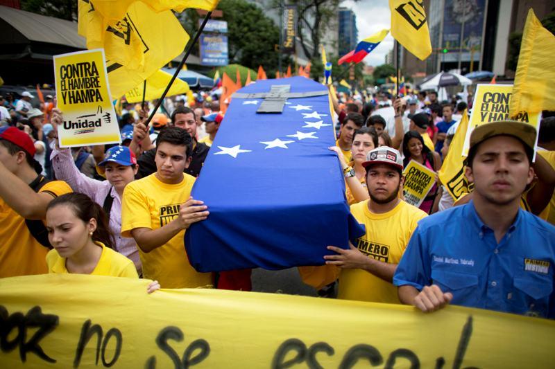 VENEZUELA-OPOSICION MARCHA