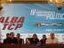 """La ministra de Exteriores de Venezuela, Delcy Rodríguez (c), participa en la inauguración de una reunión extraordinaria hoy, lunes 10 de agosto de 2015, en Caracas (Venezuela). Cancilleres y vicecancilleres de países de la Alternativa Bolivariana para los Pueblos de América (ALBA) iniciaron hoy una reunión extraordinaria para diseñar planes de contención de """"golpes blandos contra gobiernos legítimos"""". EFE/Miguel Gutiérrez"""