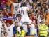 MADRID. 29/08/2015.- El delantero galés del Real Madrid Gareth Bale celebra su gol, primero del equipo, durante el partido de la segunda jornada de Liga que Real Madrid y Real Betis juegan esta noche en el estadio Santiago Bernabéu. EFE/Emilio Naranjo