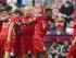 Munich ( Alemania) , 29 / 08 / 2015.- Los jugadores de Bayern Munich celebran su ventaja de 1-0 en el partido de la Bundesliga alemana entre el Bayern de Múnich y el Bayer Leverkusen en el Allianz Arena de Munich , Alemania 29 de agosto de 2015.  EFE/EPA/PETER KNEFFEL