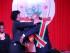 """Fotografía cedida por la Oficina del Presidente de Surinam el miércoles 12 de agosto de 2015, del presidente de Surinam, Desiree Delano Bouterse (d), quien fue investido para su segundo mandato consecutivo durante una ceremonia en la que lanzó un mensaje en favor de la unidad regional."""". Foto: EFE/Oficina del Presidente de Surinam"""