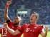 Lewadowsky celebra el gol del Bayern. EFE/EPA/ULI DECK
