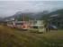 Foto de los vehículos retenidos en Chuchumbletza, Zamora, por la Agencia Nacional de Tránsito, en una foto tuiteada por el diario oficial El Telégrafo.