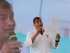 El presidente Rafael Correa el martes 4 de agosto de 2015 mientras recorría el proyecto de regeneración urbano turística Las Palmas, en la provincia de Esmeraldas. Foto: Carlos Silva/Presidencia