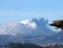 Emisiones de ceniza del volcán Cotopaxi. Foto: API/Archivo