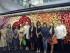 Fotografía facilitada por el Consulado de Ecuador en Cantón, China, que ha organizado varios actos de promoción de las rosas ecuatorianas, entre las que destaca el despliegue de un gran mural elaborado con estas flores en uno de los lugares más bulliciosos de esta metrópoli, el centro comercial Grand View. China celebra el 20 de agosto el Día de los Enamorados oriental, también conocido como Fiesta del Doble Siete. Foto: EFE