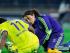 Foto de archivo. Eva Carneiro doctora del Chelsea atiende a Drogba en el campo de juego. Foto tomada de la página web oficial del Chelsea FC.