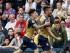 El atacante del Arsenal Olivier Giroud (derecha) festeja con Héctor Bellerini el gol que marcó en el duelo contra el Crystal Palace en Londres el domingo 16 de agosto de 2015. (Foto AP/Kirsty Wigglesworth)