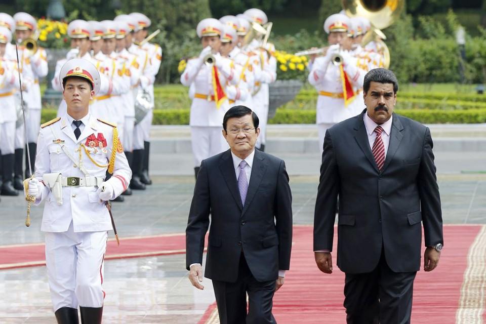 Venezuela's President Nicolas Maduro Moros visits Vietnam