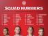 Números que utilizarán los jugadores del Manchester United durante la campaña 2015-2016. Foto tomada de la cuenta oficial de Twitter en español del Manchester United (@ManUtd_Es).