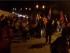 La marcha indígena ha llegado a Zamora, la noche del 2 de agosto de 2015. Foto tuiteada por la Conaie.