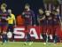 TIFLIS (GEORGIA), 11/08/2015.- Los jugadores del FC Barcelona celebran el primer gol que ha marcado el delantero argentino Lionel Messi (2d) frente al Sevilla, durante el partido de la Supercopa de Europa que se juega hoy en el estadio Boris Paichadze Dinamo Arena, en Tiflis (Georgia). EFE/Kiko Huesca