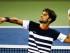 El español Feliciano López lanza al público una banda después de vencer a su compatriota Rafael Nadal hoy, jueves 20 de agosto de 2015, durante un partido del Master 1000 de Cincinnati, en el Linder Tennis Center de Mason, Ohio (ESTADOS UNIDOS). EFE/ TANNEN MAURY