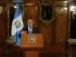 El presidente de Guatemala Otto Pérez Molina habla en una conferencia de prensa en ciudad de Guatemala, el lunes 31 de agosto de 2015. El Pleno del Congreso de Guatemala decidirá el martes si retira la inmunidad a Pérez Molina, como ha recomendado una comisión legislativa, para que la justicia ordinaria lo investigue por corrupción (AP Photo/Moises Castillo)