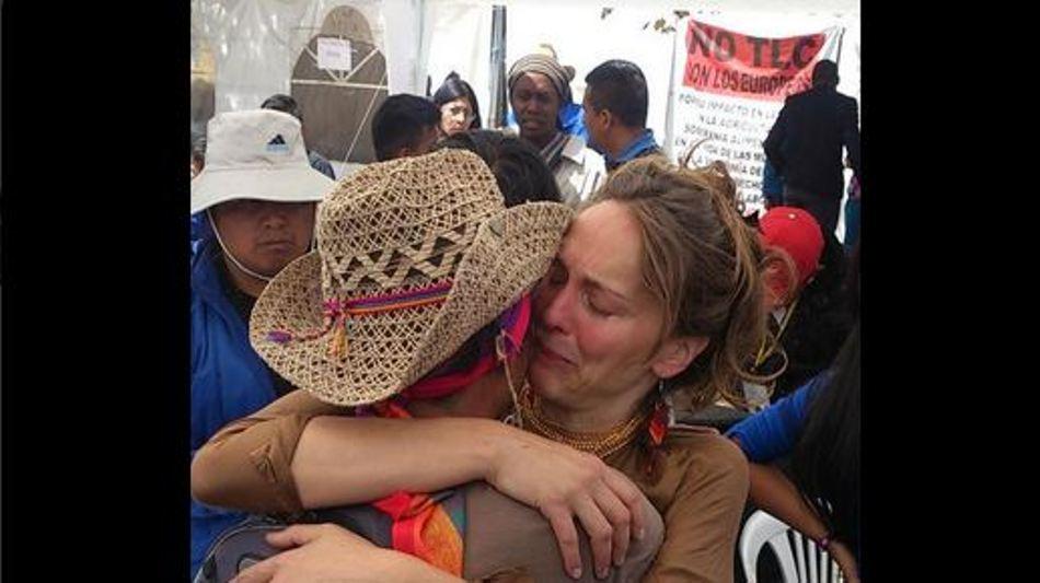 Manuela Picq, la tarde del 21 de agosto de 2015. @AndreaGrijalva