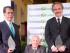 Alfonso Espinosa de los Monteros, Carlos Rubira Infante y Melvin Hoyos.