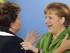 Rousseff y Merkel. Foto: EFE/Archivo