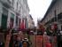 Segundo día de protestas en Quito.
