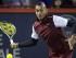 El tenista australiano Nick Kyrgios devuelve un tiro de Stan Wawrinka en el torneo copa Rogers el miércoles 12 de agosto de 2015. (Foto AP/Paul Chiasson/The Canadian Press).